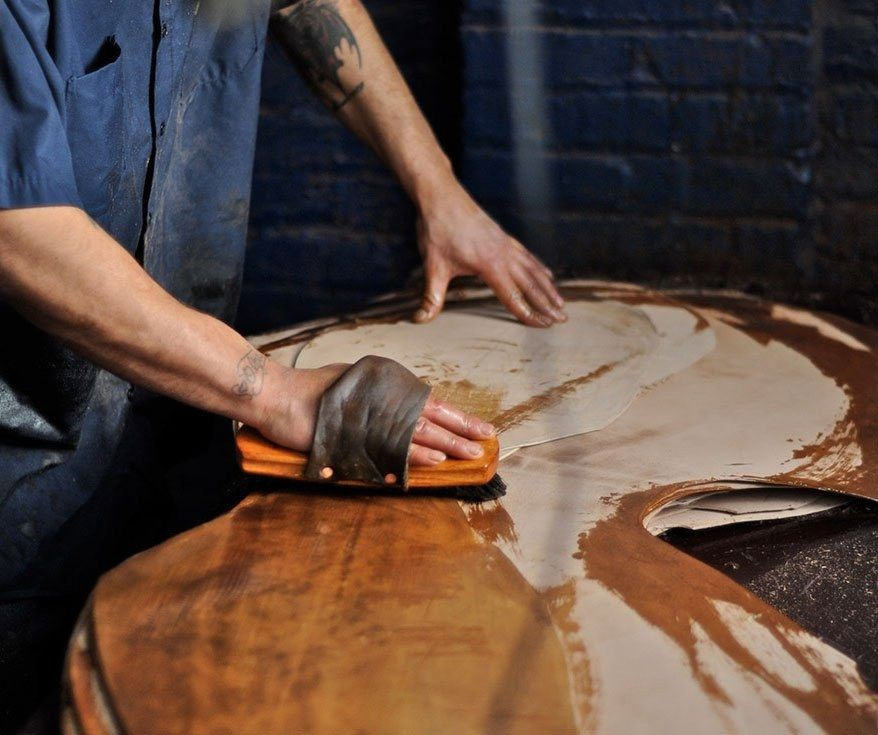 Material Matters Leather Horween Oiling Cropped 2