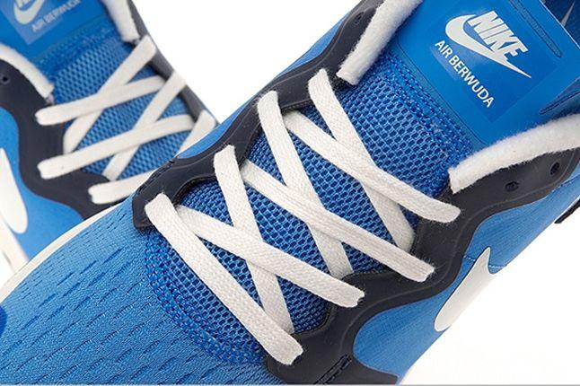 Nike Air Berwuda Blue Aerial Lace Detail 1