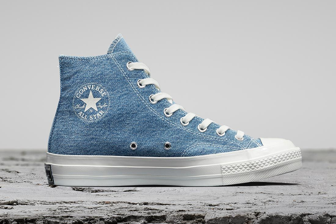 Converse Renew Chuck Taylor All Star Denim Right Side Shot