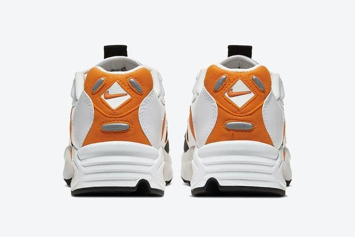 Nike Air Max Triax 96 Magma Orange Heels