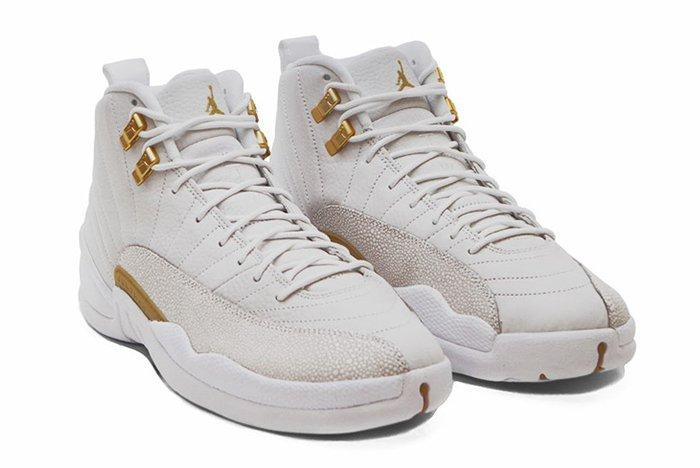 Drake X Air Jordan 12 Ovo White Stingray2