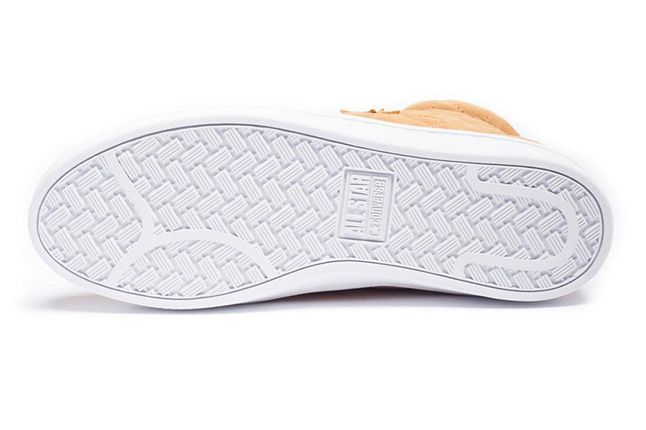 Undefeated Converse Quilted Hi Sole 1