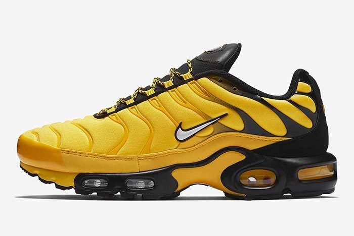 Nike Air Max Plus Yellow 2