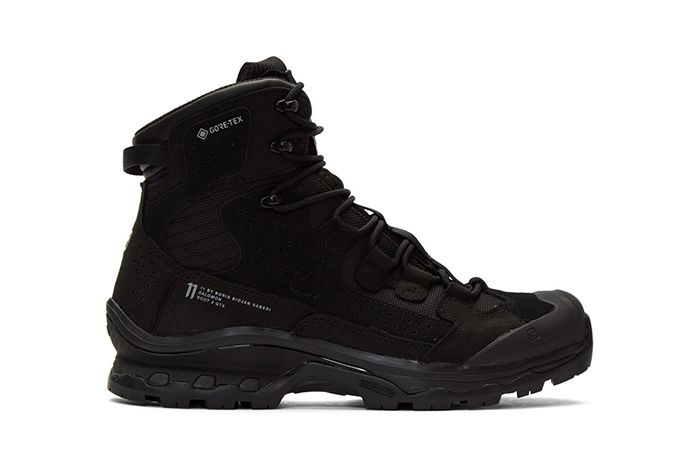 11 Boris Bidjian Saberi Salomon Edition Gore Tex Black Lateral