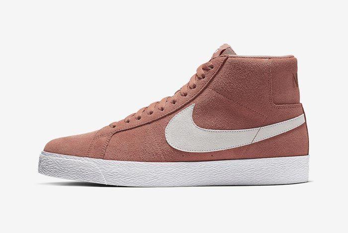 Nike Sb Blazer Dusty Peach Lateral