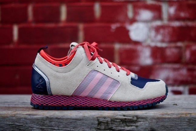 Adidas Opening Ceremony Newyork Runner Red Profile 1