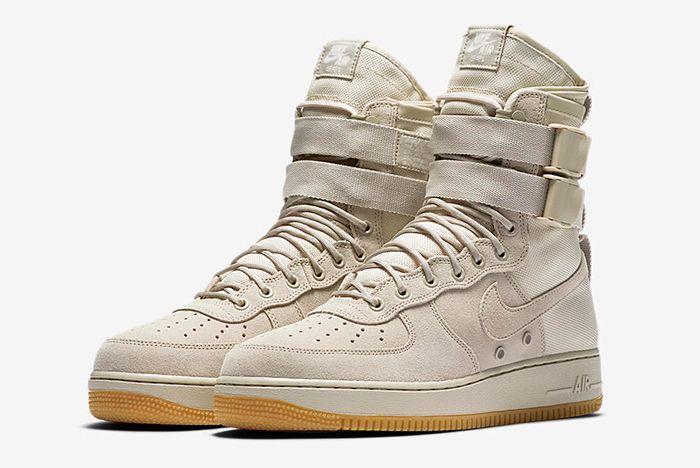 Nike Sf Air Force 1 Tan 1