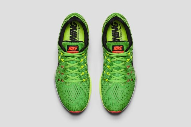 Nike Air Zoom Structure 19 Lime Green 4
