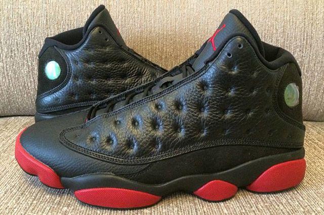 Air Jordan 13 Black Red 1