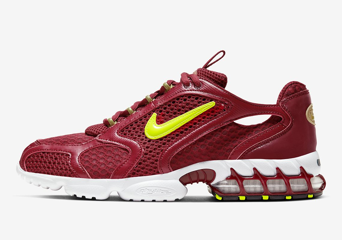 Nike Zoom Spiridon Cage 2 Team Red Left