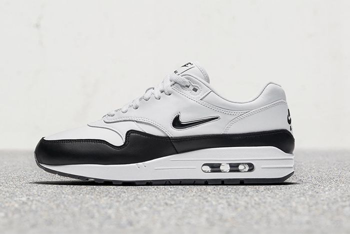 Nike Air Max 1 Jewel (White/Black) - Sneaker Freaker