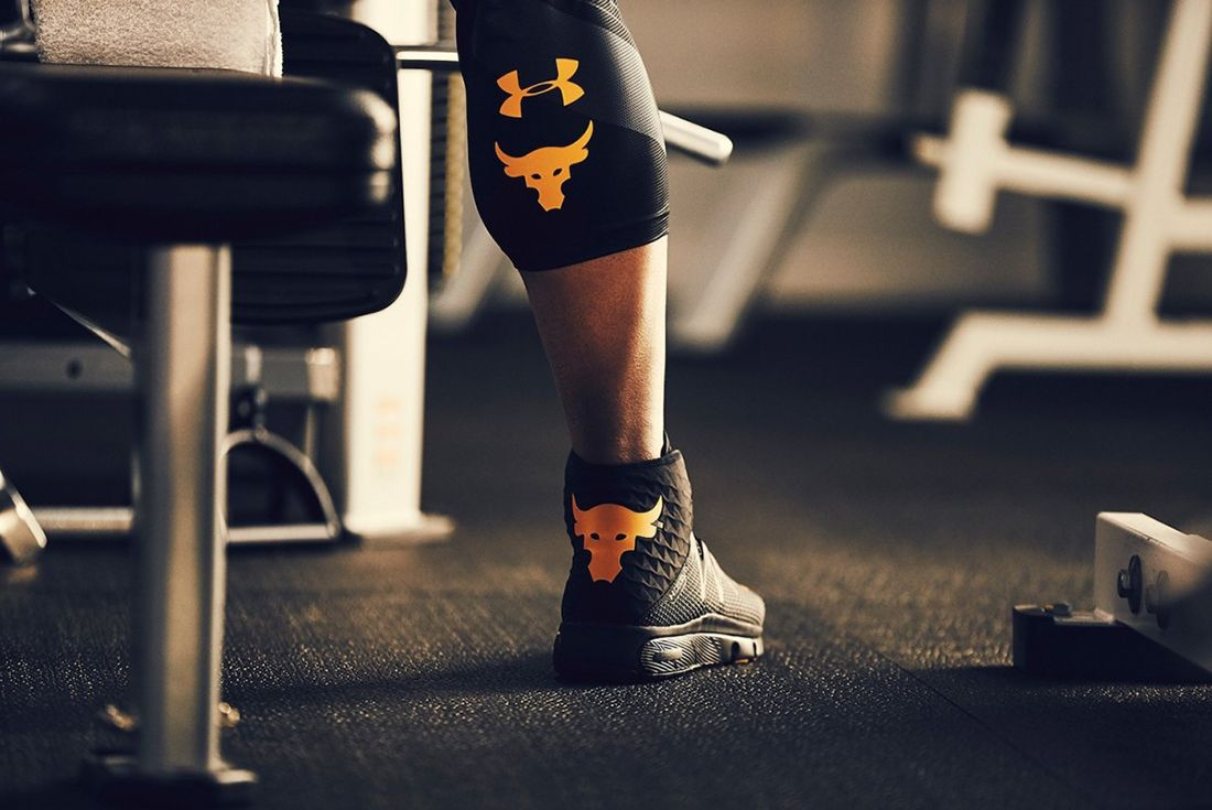 The Rock X Under Armour Project Rock Delta3
