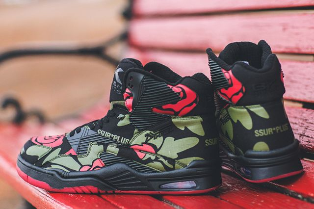 Ssur X British Knights Control Hi Rose Camo 4