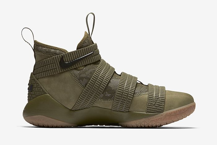 Nike Lebron Soldier 11 Olive 3