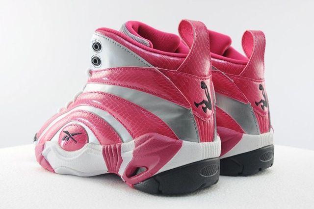 Reebok Shaqnosis Pink Silver 5
