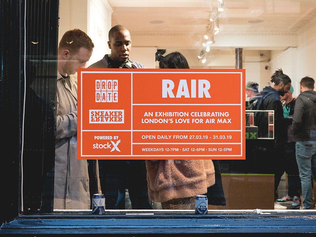 Rair Air Max Exhibition Sneaker Freaker Stox Dro Date Display Shots5