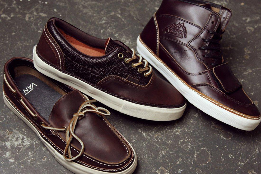 Material Matters Leather Chromexcel Vans 1