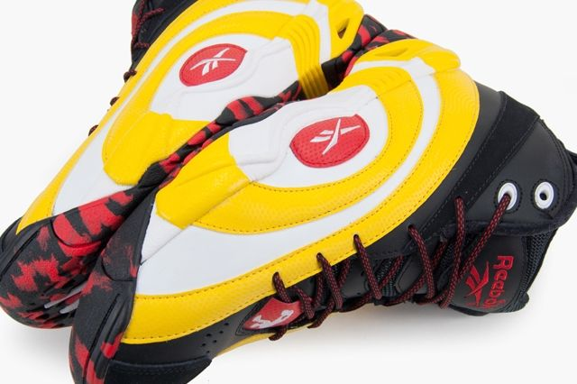 Reebok Shaqnosis Og Black White Yellow Red 5