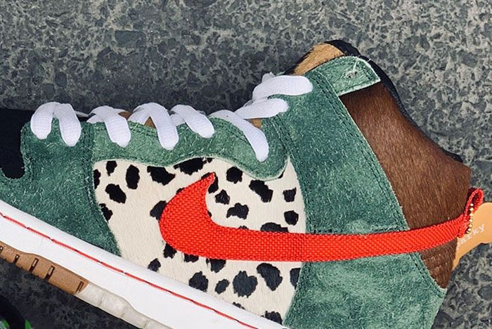 Nike Sb Dunk High Dog Walker 1 Side Preview Shot