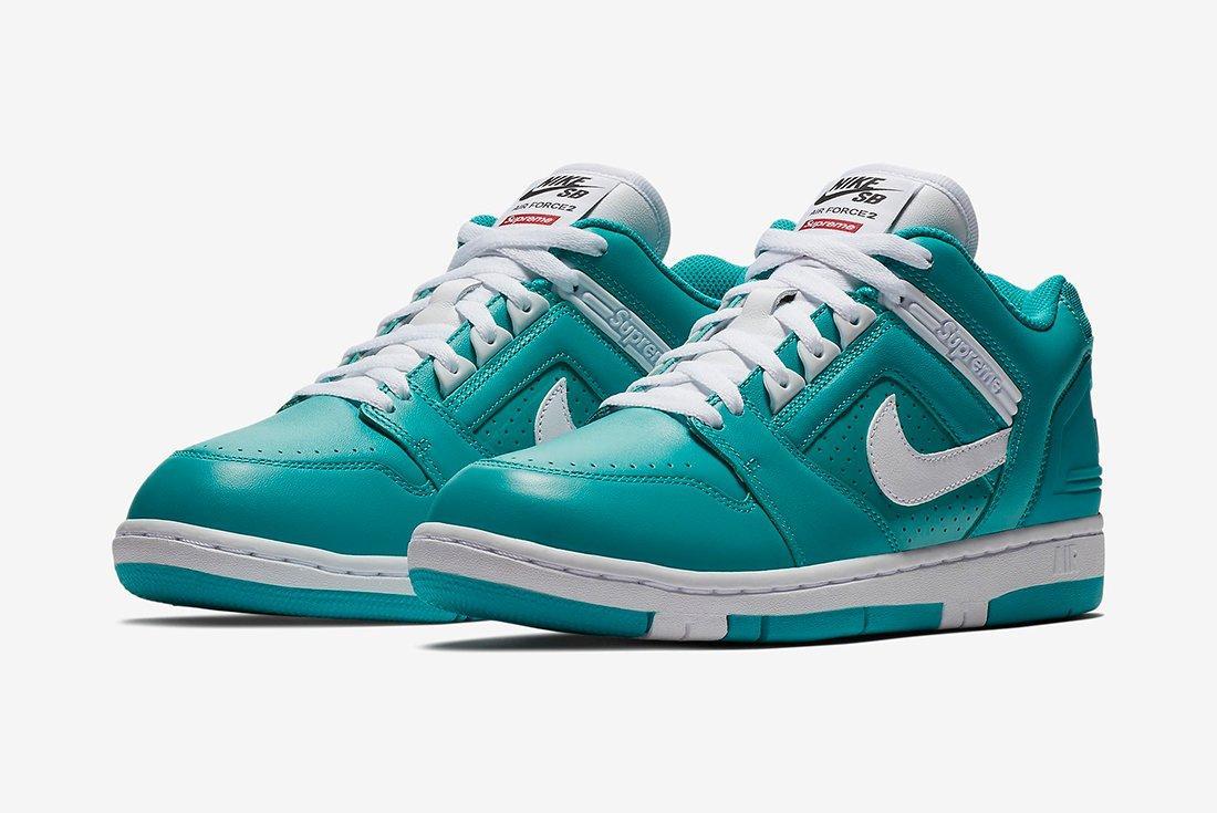 Supreme X Nike Air Force 2 12