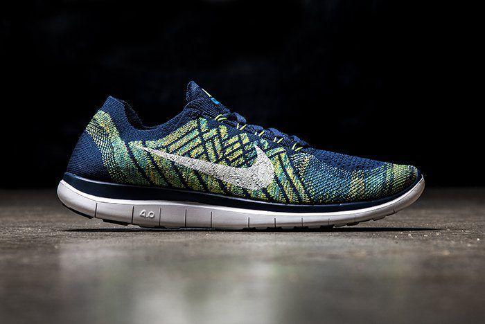 Nike Free 4 0 Green Blue 1