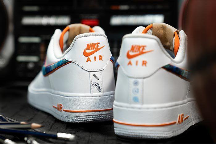 Afew Store X Bobbito Garcia Nike Air Force 1 Rock Rubber 45S 10