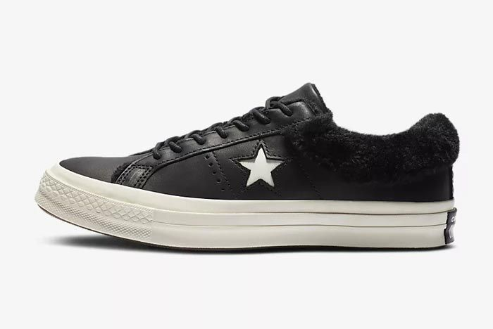 Converse One Star Fur Black 1