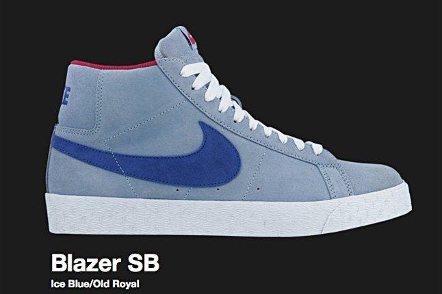 Nike Blazer Sb Ice Blue 2009 1