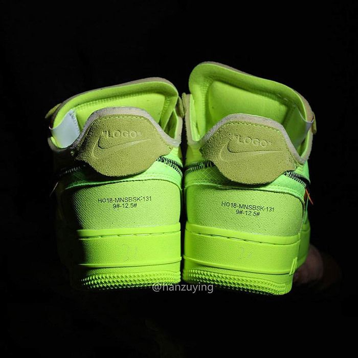 Off White Nike Air Force 1 Low Volt 10