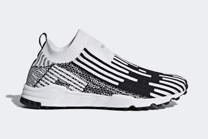 Adidas Eqt Support Sock Primeknit White 4