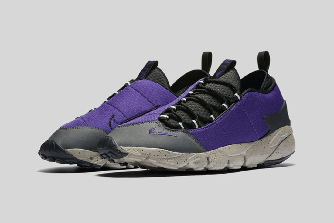 Nike Air Footscape Nm Black Purple 2