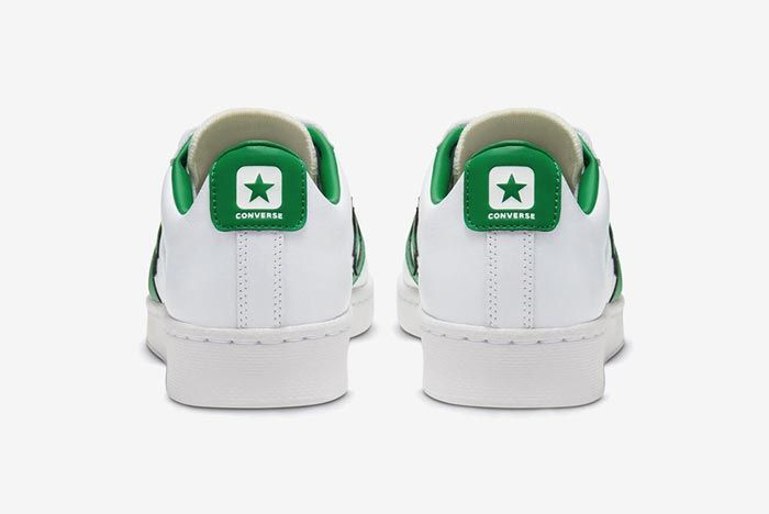 Converse Pro Leather Ox Green Heels