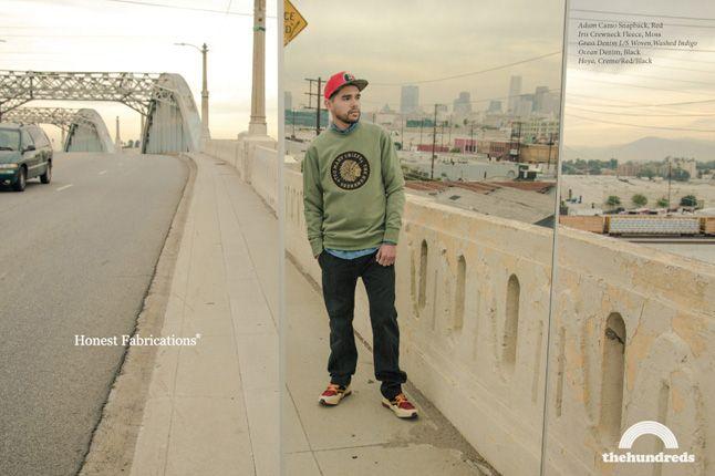 The Hundreds Spring 2013 Lookbook Camo Snapback 1