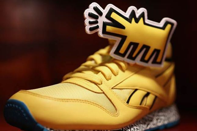 Reebok Keith Haring Bodega Launch Haring Sneaker Yellow 1