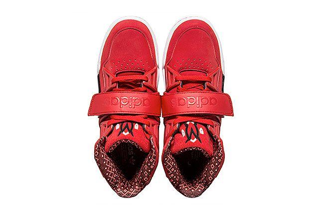 Adidas Mutombo Tr Block Scarlet Topview