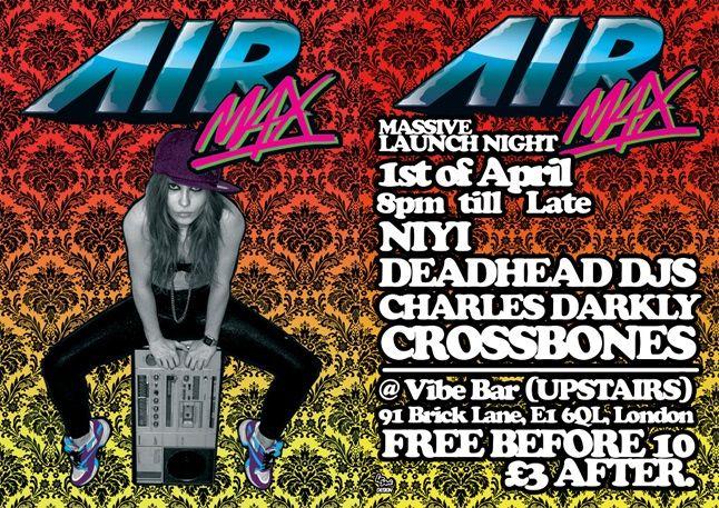 Air Max Vibe Bar 1