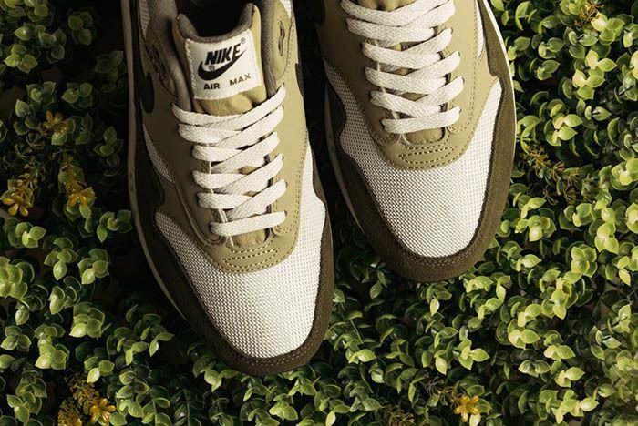 Nike Air Max 1 Medium Olive Canvas 3