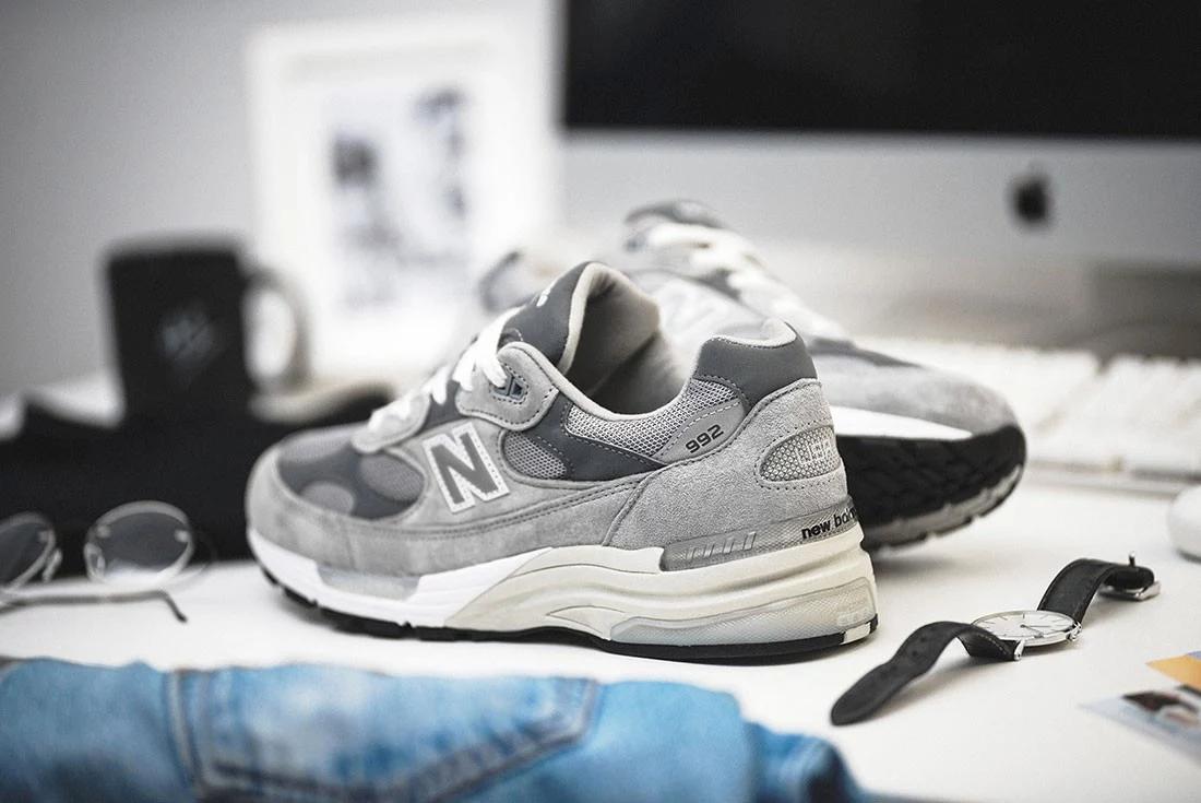 grey new balance 992