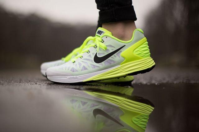 Nike Lunarglide 6 Gs Liquid Lime Volt 3
