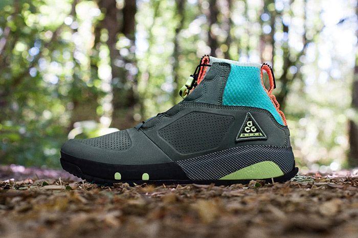 Nike Acg Ruckel Ridge Grey Lime Teal Orange 1