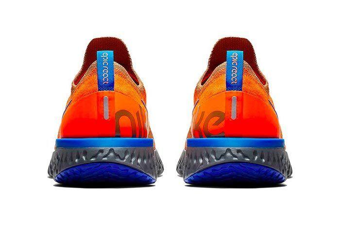 Nike Epic React Flyknit Golden Beige 4