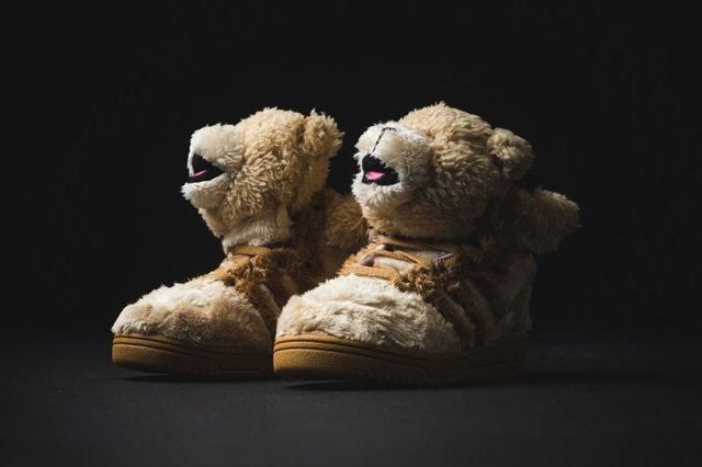 Adidas Infant Js Bear Tan 1