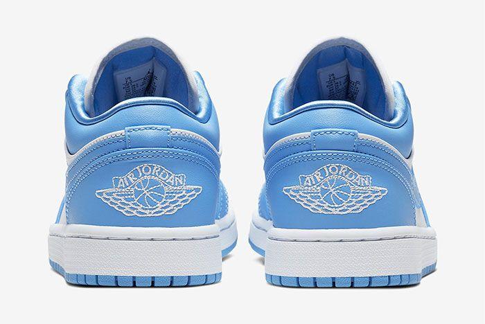 Air Jordan 1 Low Unc Heel