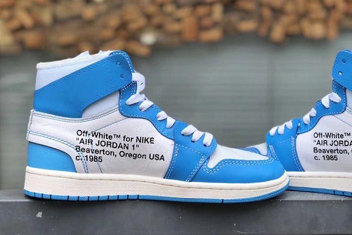 Air Jordan 1 Unc Off White 3