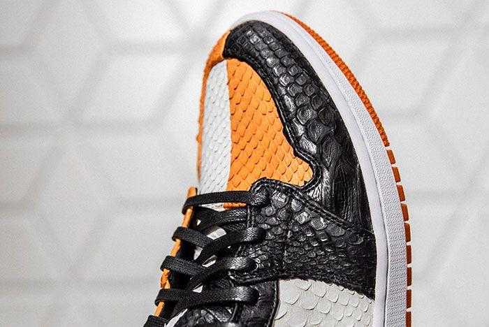 Shoe Surgeon Air Jordan 1 Sbb Toebox Angle
