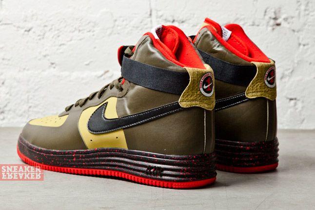 Nike Lunar Force 1 Ns Hi Prm Parachute Gold Black 3