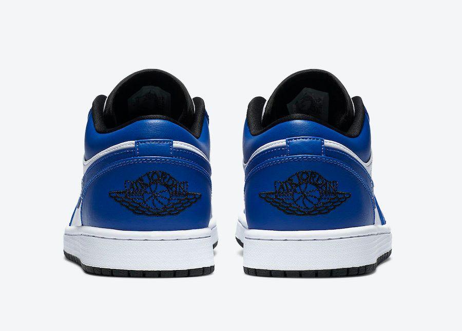 Air Jordan 1 Low Game Royal Heel