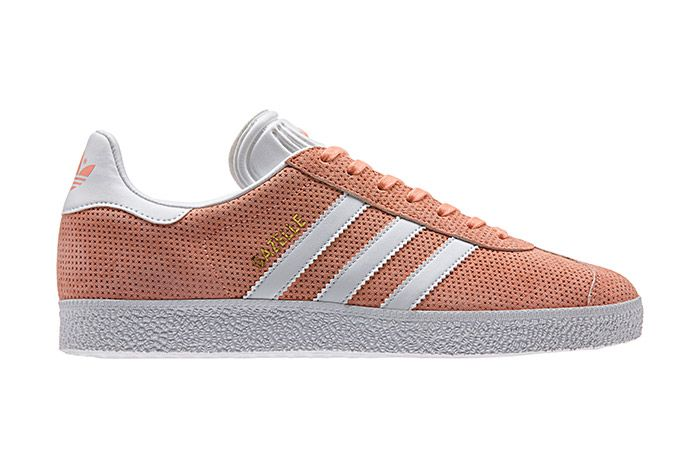 Adidas Gazelle Perforation Pink 2