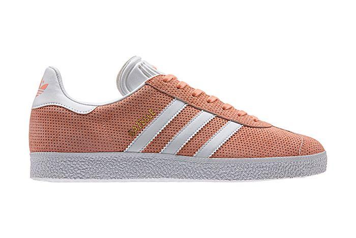 Adidas Gazelle Perforation Pink 2