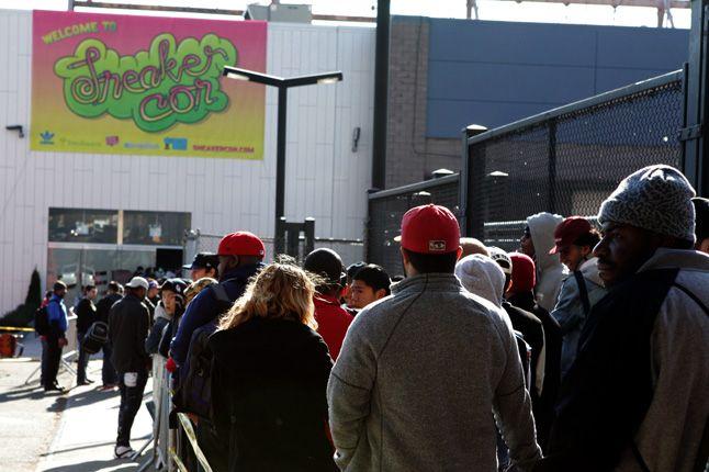 Sneaker Con New York 2012 Line 1